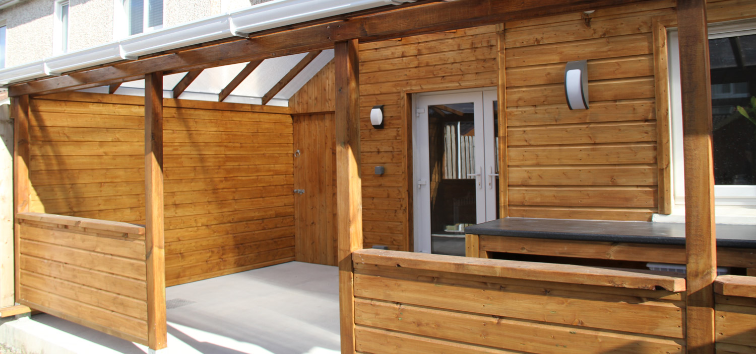 AG Remodelling Projects - Rain Shelter and Outdoor Sitting ...
